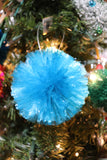 Fuzzy Straw Ball Ornament