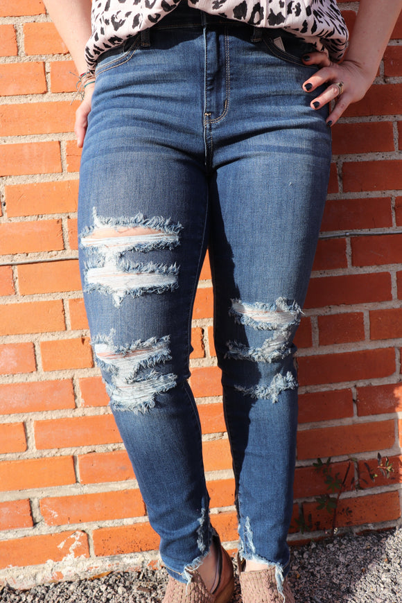Destiny Destructed Skinny Jeans