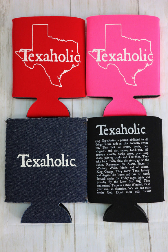 Texaholic Can Holder [All Colors]