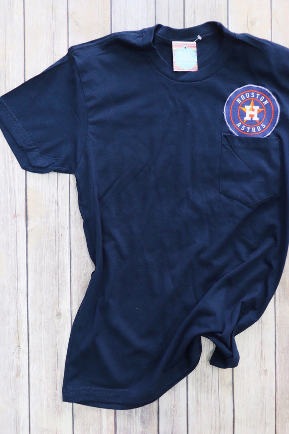 Houston Astro's Pocket Tee