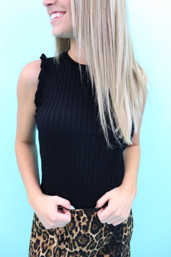 Rivera Ruffle Knit Top