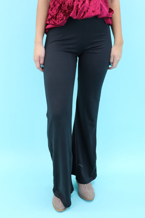 Bellaire Black Flare Pants