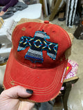 Vaquero Serape Dirty Trucker Hat