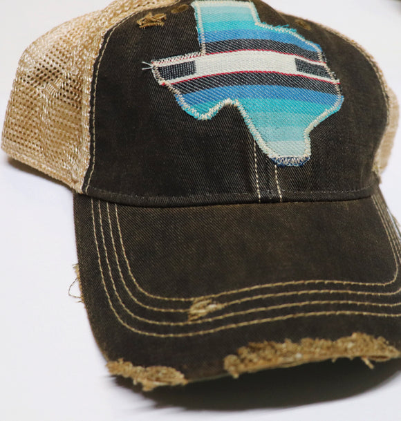 Maverick Serape Dirty Trucker Hat