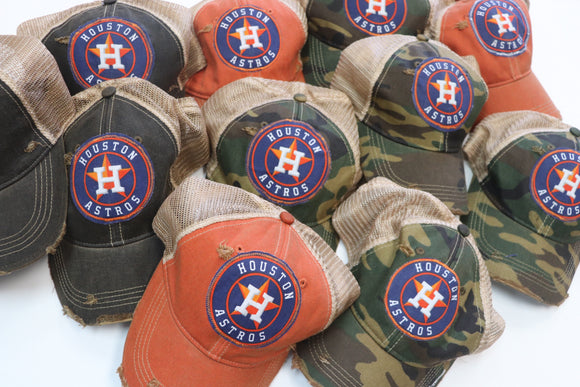 Astros Dirty Trucker Hat