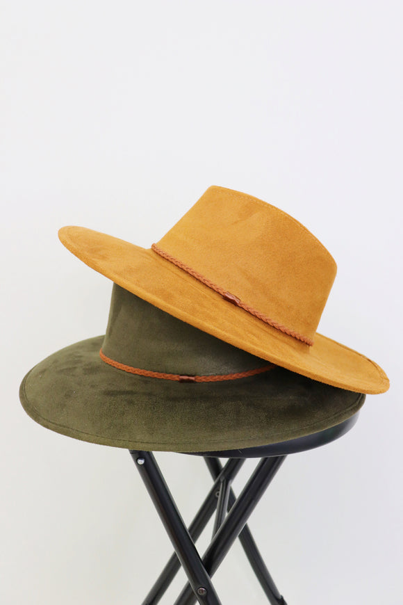 Six Shooter Suede Hat [2 Colors]