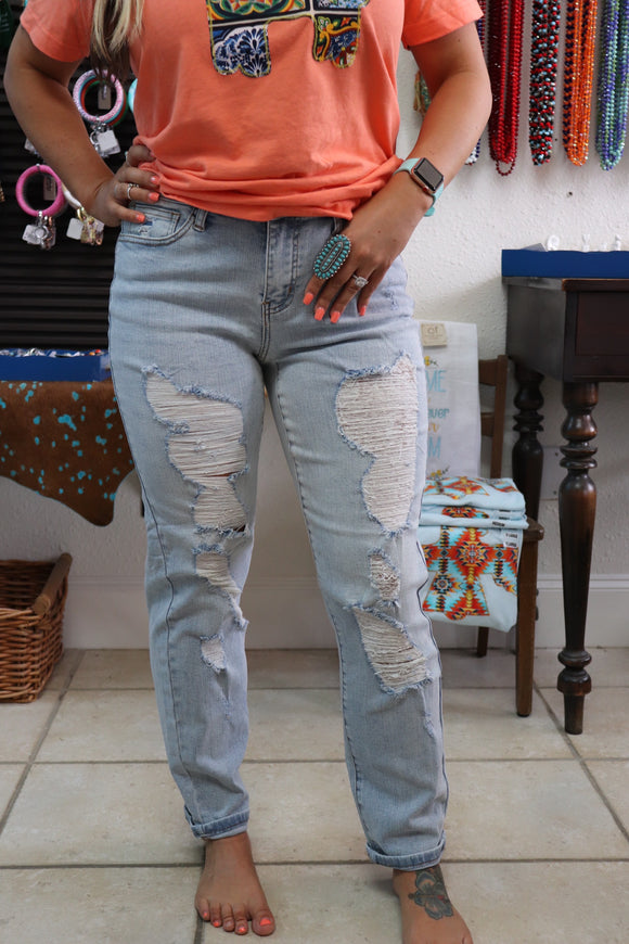 Delightful Distressed Denim
