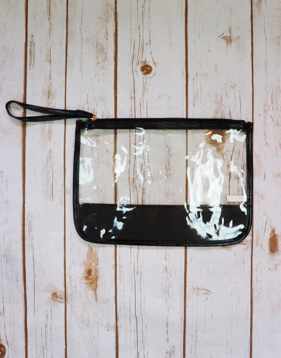 Rodeo Ready Zipper Clutch Bag