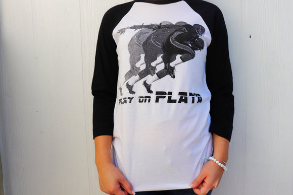Play on Playa Raglan Tee