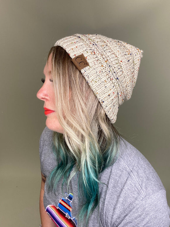 Speckled Slouchy Beanie [All Colors]
