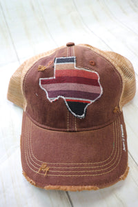 Noche Serape Dirty Trucker Hat