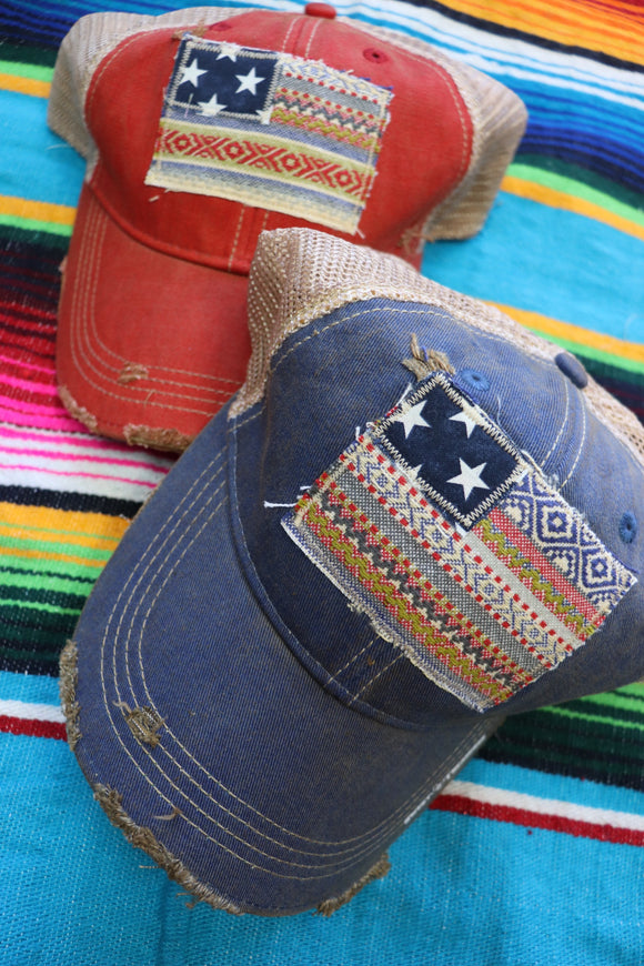 Verano Serape Flag Trucker Hat [All Colors]