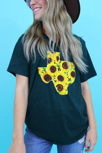 Sunflower V-Neck Tee