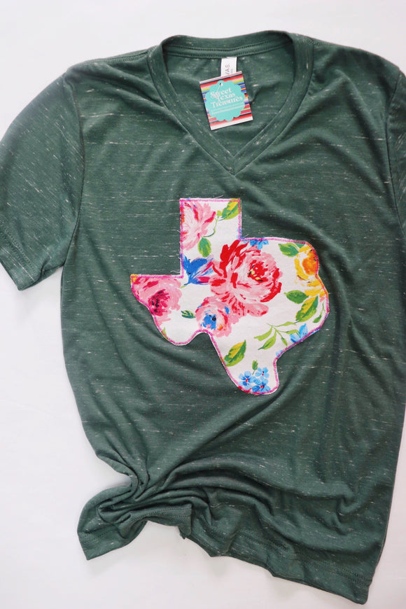Franklin Floral Tee