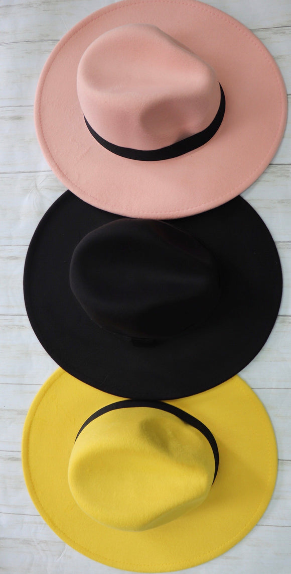 Wool Zoot Suit Structured Hat [3 Colors]