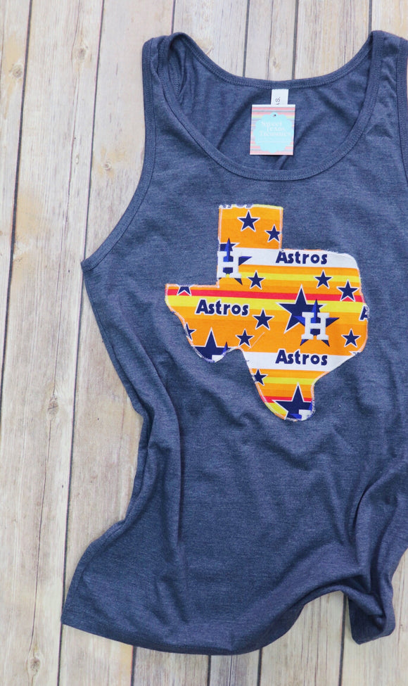 Throwback Astros Boyfriend Tank