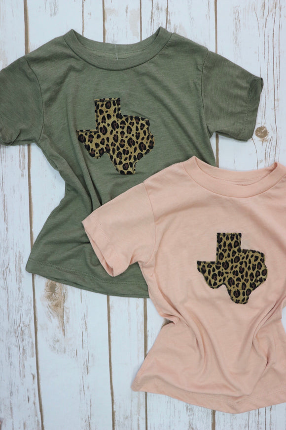 Leopard Print Toddler Tee