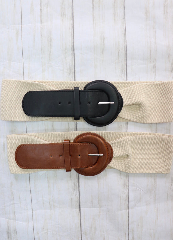 Euless Elastic Waistband Belt