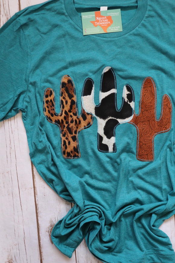 Cactus Trifecta Tee [Wild Thing Mix]