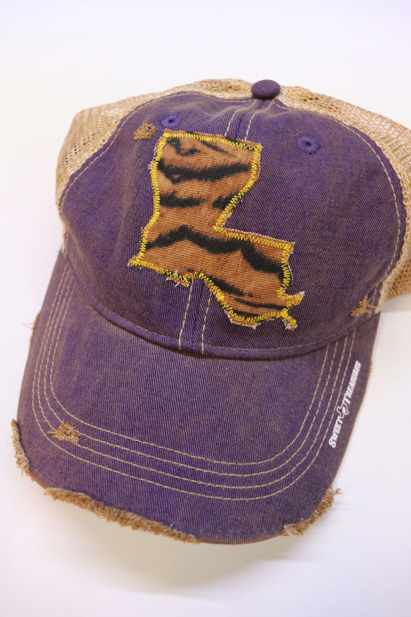 Tiger Dirty Trucker Hat
