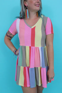 Last Call Summer Lovin' Babydoll Dress