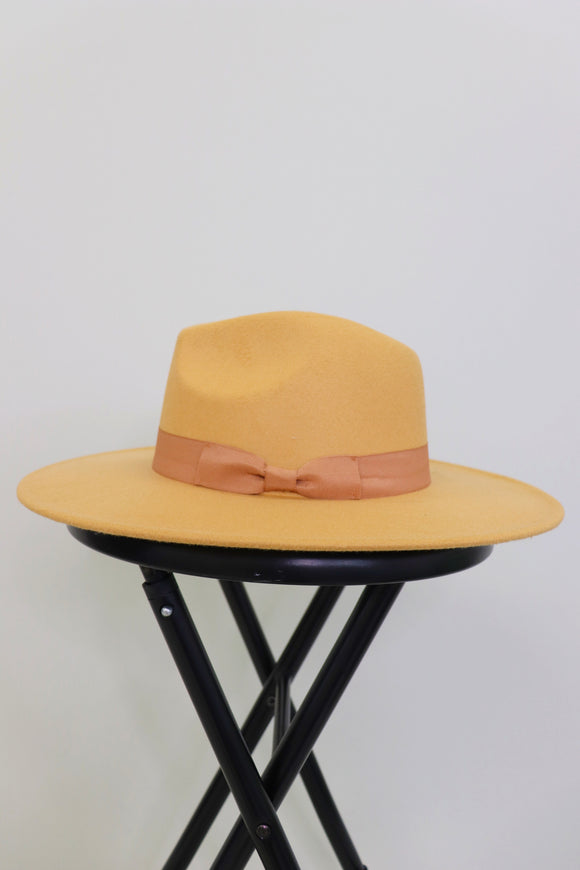 Prairie Panama Wool Hat [3 Colors]