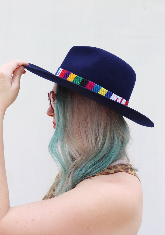 Oaxaca Banded Wool Hat [2 Colors]