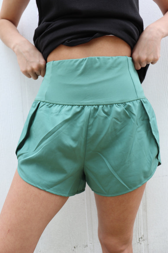 Sun Salutations Athletic Shorts