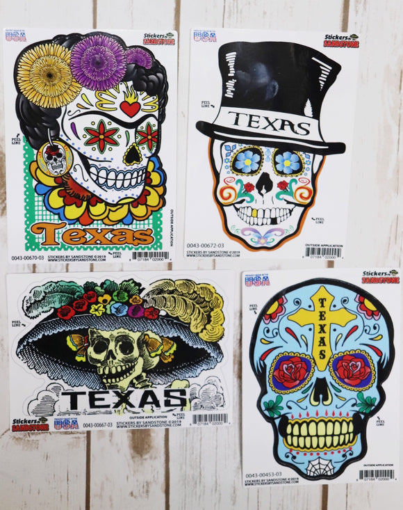 Day of the Dead Stickers [All Styles]