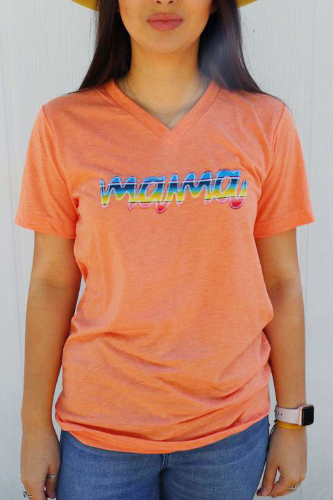 Mama New Fiesta Tee [Orange]