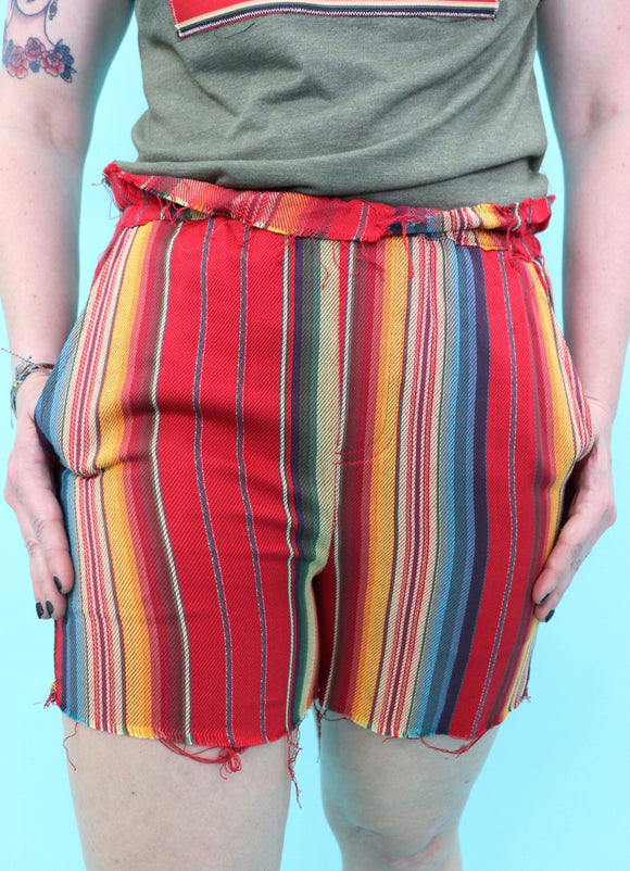 Salsa Serape Cut Off Shorts