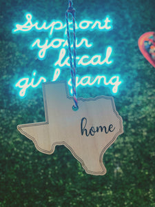Sweet Texas Home Ornament