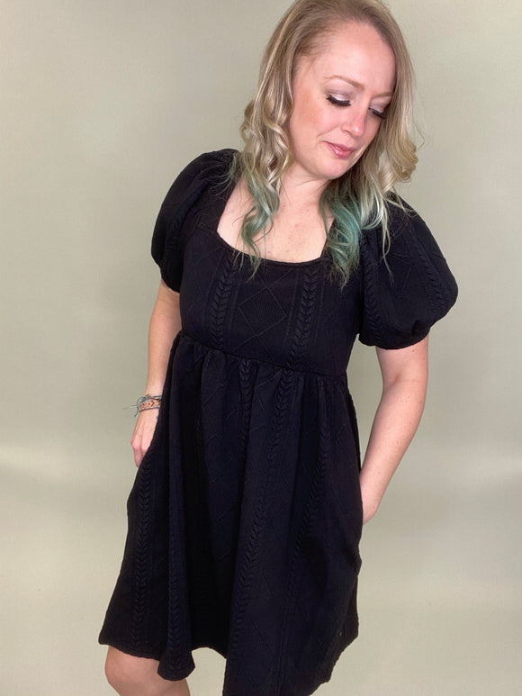 Last Call Brumal Babydoll Dress
