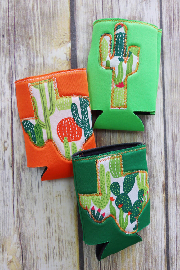 Classic Cactus Custom Can Holder
