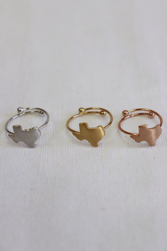Sweet Texas Adjustable Ring [3 Colors]