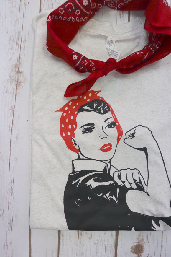 Rosie the Riveter Tee
