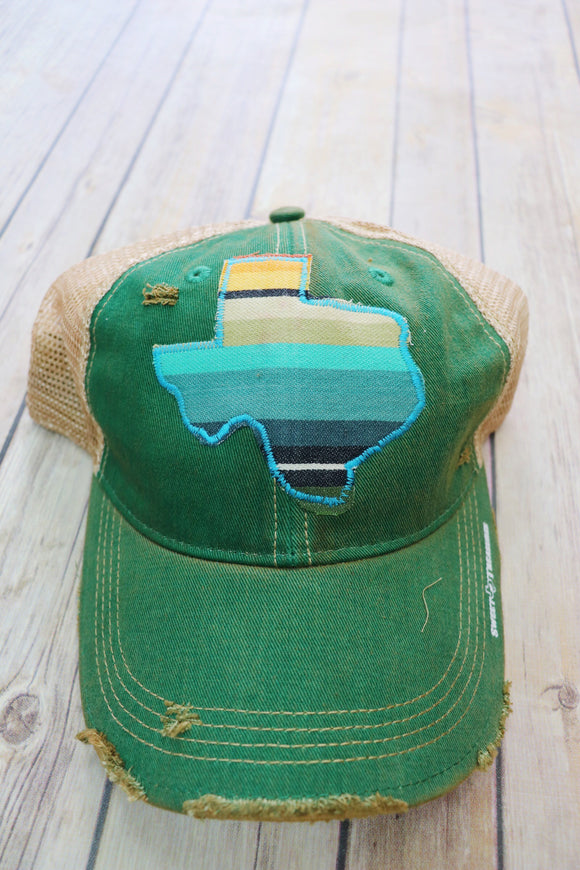 Playa Serape Dirty Trucker Hat
