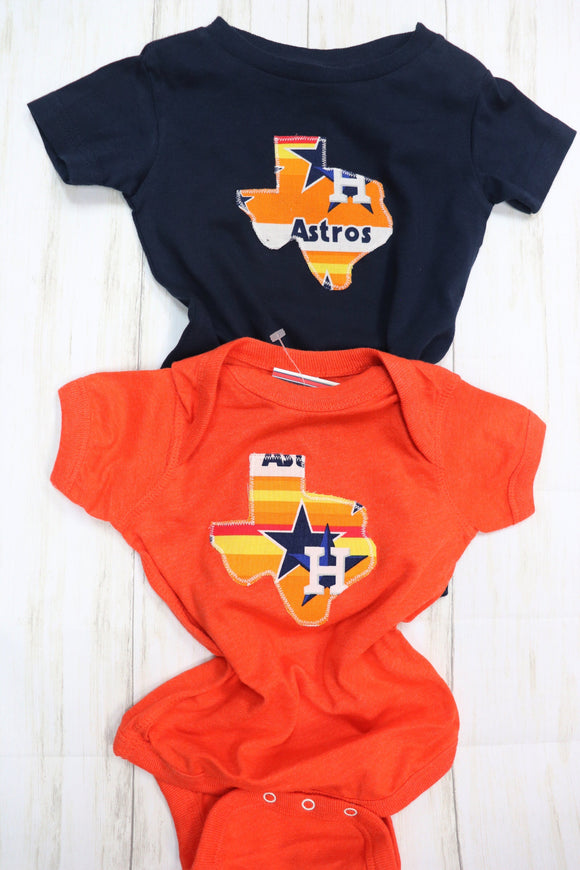 Throwback Astros Onesie