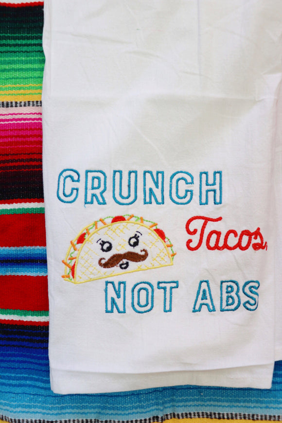 Crunch Tacos Tea Towel