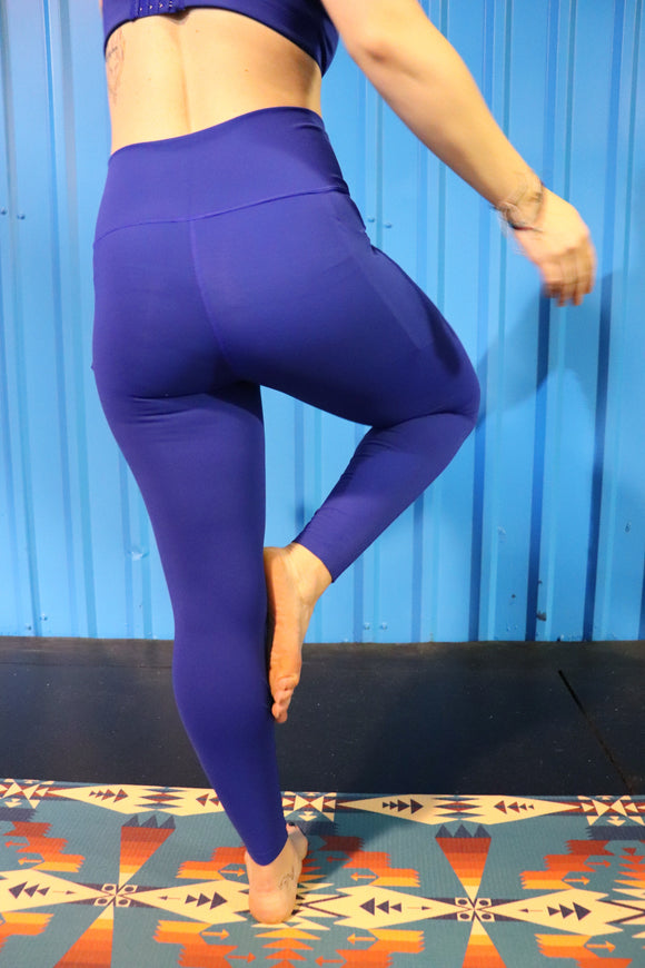 Beast Mode Highwaist Leggings [Blue]
