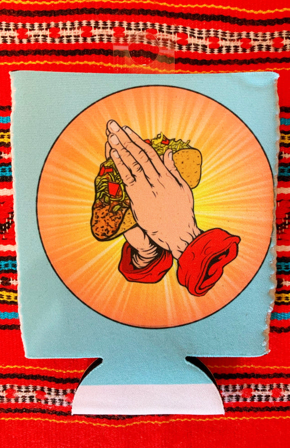 Taco Praying Hands Can Holder