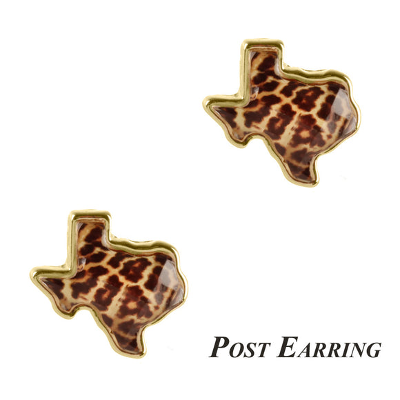Texas Illusion Stud Earrings [3 Styles]