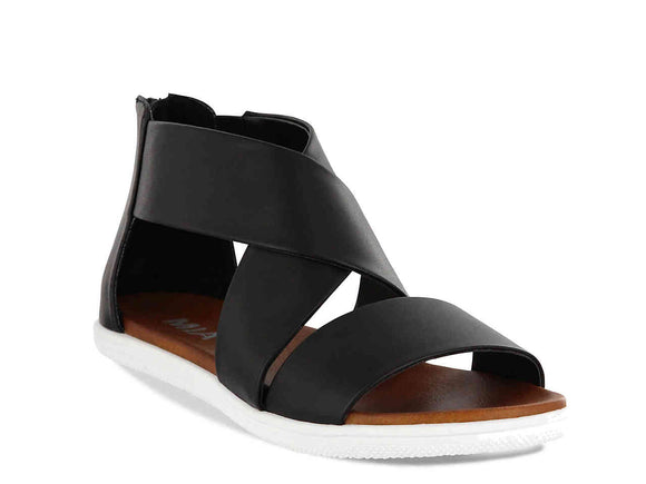 Blanco Bottom Sandals [Black]