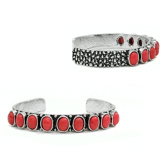 Last Call Multi-Stone Embellished Cuff [2 Colors]