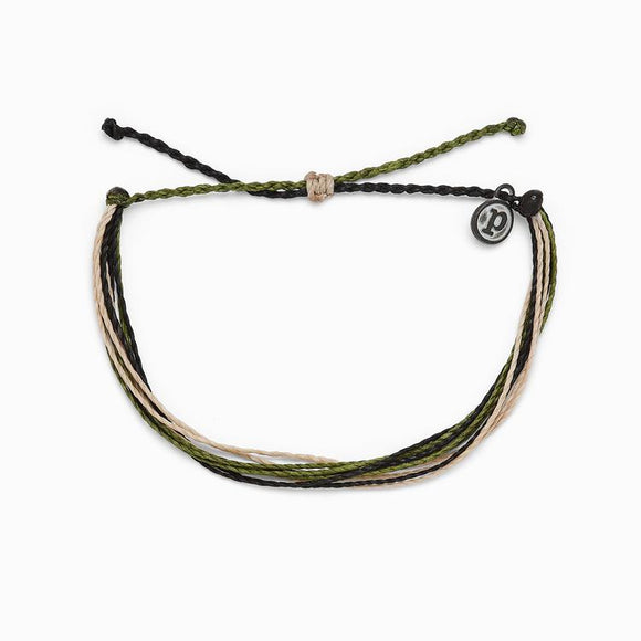 Pura Vida Charity Bracelet [For the Troops]