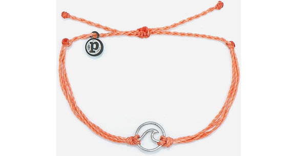 Pura Vida Wave Charm Bracelet [All Colors]