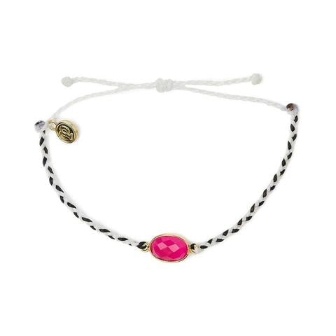 Pura Vida Electric Gemstone Charm Bracelet