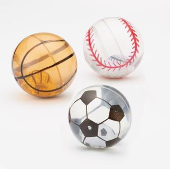 Light Up Sports Bouncy Ball