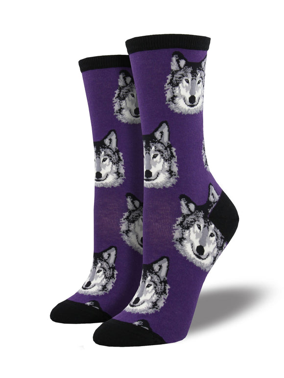 Wolf Women's Socks [2 colors]