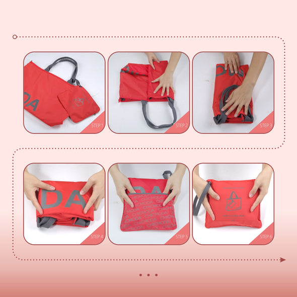 CHICMODA Fashion Tote Bag with Zipper Pouch